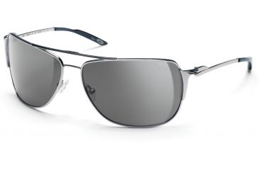 Smith Optics Foley Sunglasses - Silver Frames, Gray Lenses