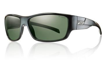 Smith Optics Frontman sg, Black/pol Gray grn chrom lens FNRPGNBK