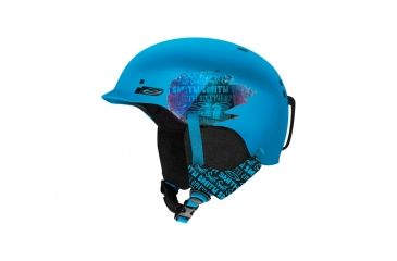 Smith Optics Gage Junior Helmet, Cyan Fader, Youth Small H13-GJCFY