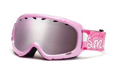 Smith Gambler Graphic Goggles, Pink Pop, Ignitor Mirror GG3IPP11