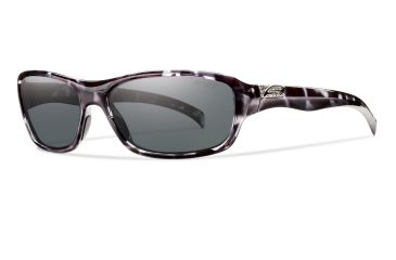 Smith Optics Hey Day Sunglasses - Black Tortoise Frame, Polarized Gray Lenses HYPPGYBT