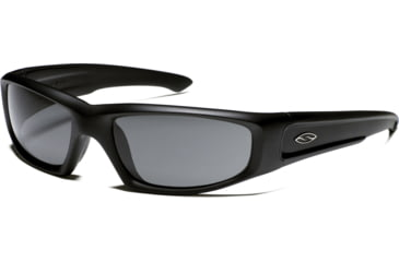 Smith Elite Hideout Tactical Sunglasses with Black Frames and Polarized Gray Lenses HDTPPGY22BK
