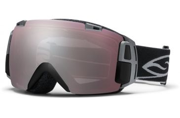 Smith Optics I/O Recon Goggles - Black Frame, Ignitor Mirror And Blue Sensor Mirror Lenses IR7IBK12