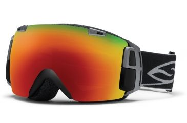 Smith Optics I/O Recon Goggles - Black Frame, Red Sol X Mirror, Red Sensor Mirror Lenses IR7DXBK12