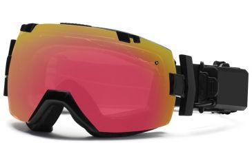 449a95d18e8 Smith Optics I OX Elite Turbo Fan Snow Goggles - Black Frame w  Blackout