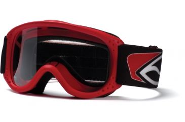 Smith Junior Goggles - Red w/ Clear AFC Lens JX1CFRD11