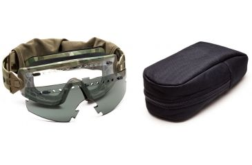 Smith Optics Lopro Regulator Goggles w/ Gray Spare Lens, Multicam LPG01MC12-2R