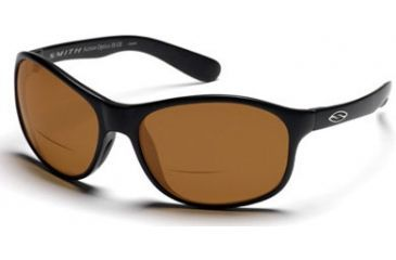 Smith Optics Lost River Reader Sunglasses - Black frames, Polarized Brown lenses