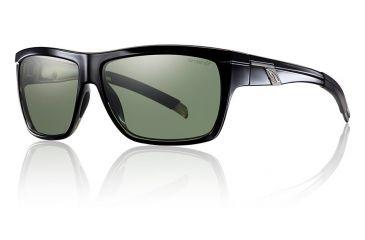 Smith Optics Mastermind sg, Black/pol Gray grn chrom lens MMRPGNBK