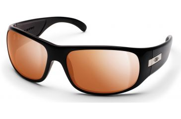 Smith Optics Mogul Sunglasses with Black frames and Copper Mirror lenses