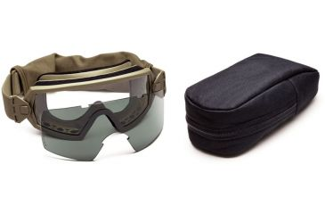 Smith Elite Outside The Wire Goggles w/ Gray Spare Lens, Tan 499 OTW01T49912-2R