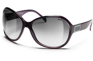 Smith Optics Palace Sunglasses - Metal Violet Frames, Gray Gradient Lenses