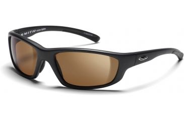 Smith Optics Passage Sunglasses with Graphite frames and Brown lenses
