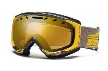 Smith Phase Goggles, Antique/Yellow Legacy, Gold Sensor Mirror PZ6GMAL11