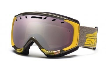 Smith Phase Goggles, Antique/Yellow Legacy, Ignitor Mirror PZ6IAL11