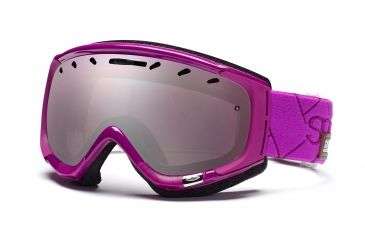 Smith Phase Goggles, Bright Plum Alpenglow, Ignitor Mirror PZ6IBA11