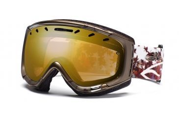 Smith Phase Goggles, Bronze Fallen, Gold Sensor Mirror PZ6GMZF11