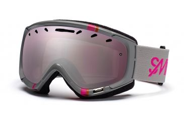 Smith Phase Goggles, Frost Gray Stereo, Ignitor Mirror PZ6IGS11