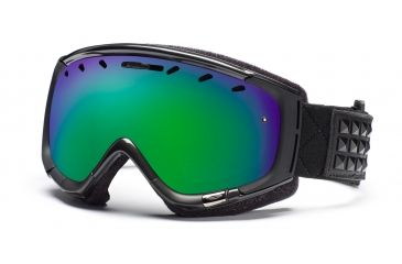 Smith Phase Goggles, Gunmetal Warrior, Green Sol X Mirror PZ6NXMW11