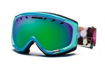 Smith Phase Goggles, Ultramarine Night Out, Green Sol X Mirror PZ6NXTN11