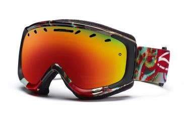 Smith Phenom Goggles, Antique Need For Speed, Red Sol X Mirror PH6DXNS11