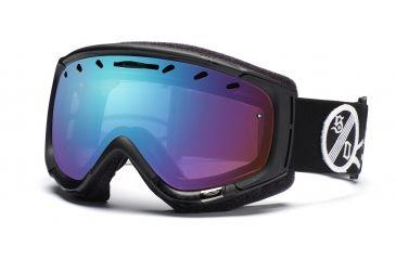 Smith Phenom Goggles, Black One Percenter, Sensor Mirror PH6ZKP11