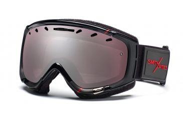 Smith Phenom Goggles, Black/Red Truetype, Ignitor Mirror PH6IKTT11