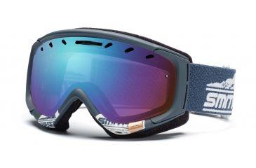 Smith Phenom Goggles, Glacier Gray Legacy, Sensor Mirror PH6ZGL11