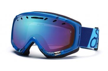 Smith Phenom Goggles, Lyon Blue Team, Sensor Mirror PH6ZBT11