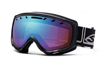 Smith Optics Phenom Ski Goggles - Black Foundation frame - Sensor Mirror Lens