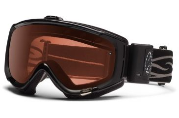 Smith Optics Phenom Turbo Fan Goggles - Black Frame, Polarized Rose Copper Lenses PH5EPBK12