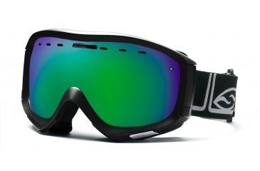Smith Prophecy Goggles, Black Foundation, Green Sol X Mirror PR6NXFK10