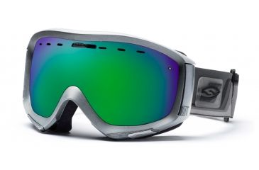 Smith Prophecy Goggles, Chrome Max, Green Sol X Mirror PR6NXCM10