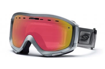 Smith Prophecy Goggles, Chrome Max, Red Sensor Mirror PR6RZCM10