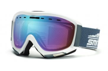 Smith Prophecy Goggles, Glacier Gray Legacy, Sensor Mirror PR6ZGL11