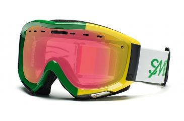 Smith Prophecy Goggles, Irie Stereo, Red Sensor Mirror PR6RZIS11