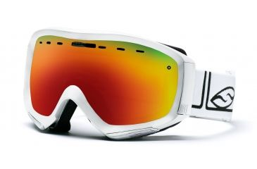 Smith Prophecy Goggles, White Foundation, Red Sol X Mirror PR6DXFW10