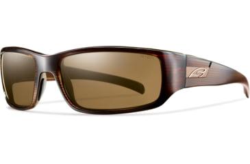 Smith Optics Prospect (New) Sunglasses - Brown Stripe Frame, Polarized Brown Lenses POPPBRBS