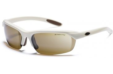 Smith Optics RedLine Sunglasses with Ivory frames and brown lenses