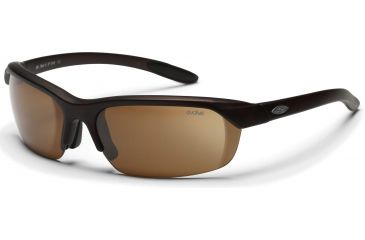 Smith Optics Redline Max Sunglasses with Matte Brown Evolve frame and Brown lenses