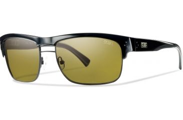 Smith Optics Scientist Sunglasses - Black Frame, Polarchromic Amber Lenses STGPPABBK