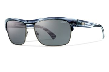 Smith Optics Scientist Sunglasses - Black Stripe Frame, Polarized Gray STGPGYBP