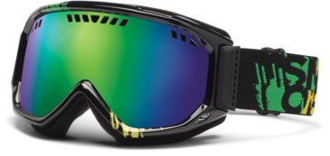 Smith Optics Scope Goggles - Irie Mission Frame, Green Sol X Mirror Lenses SC3NXIM12