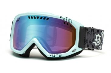 Smith Scope Graphic Goggles, Black/Mint Safety Pinner, Sensor Mirror SG3ZMP11