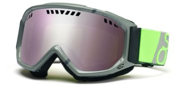 Smith Scope Graphic Goggles, Charcoal/Dayglo Team, Ignitor Mirror SG3ICT11