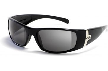9341313d250 Smith Optics Shelter Sunglasses with Black frames and Gray lenses