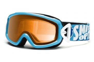 Smith Sidekick Goggles, Cyan Smithbot, Gold DK2GCB11