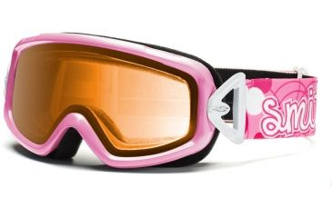 Smith Optics Sidekick Goggles - Pink Flutterby Frame, Gold Lenses DK2GPF12