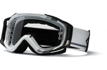 Smith Optics Fuel V2 Goggles Sweat-X White/Silver Max w/ Clear AFC Lens FX1CFVM11