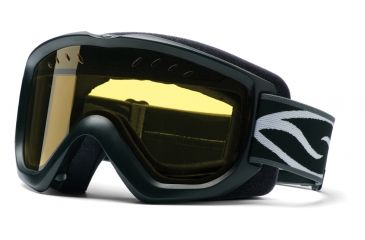 Smith Snow Option OTG Goggles - Black w/ Yellow Dual Airflow AFC Lens OP3ABKSM10